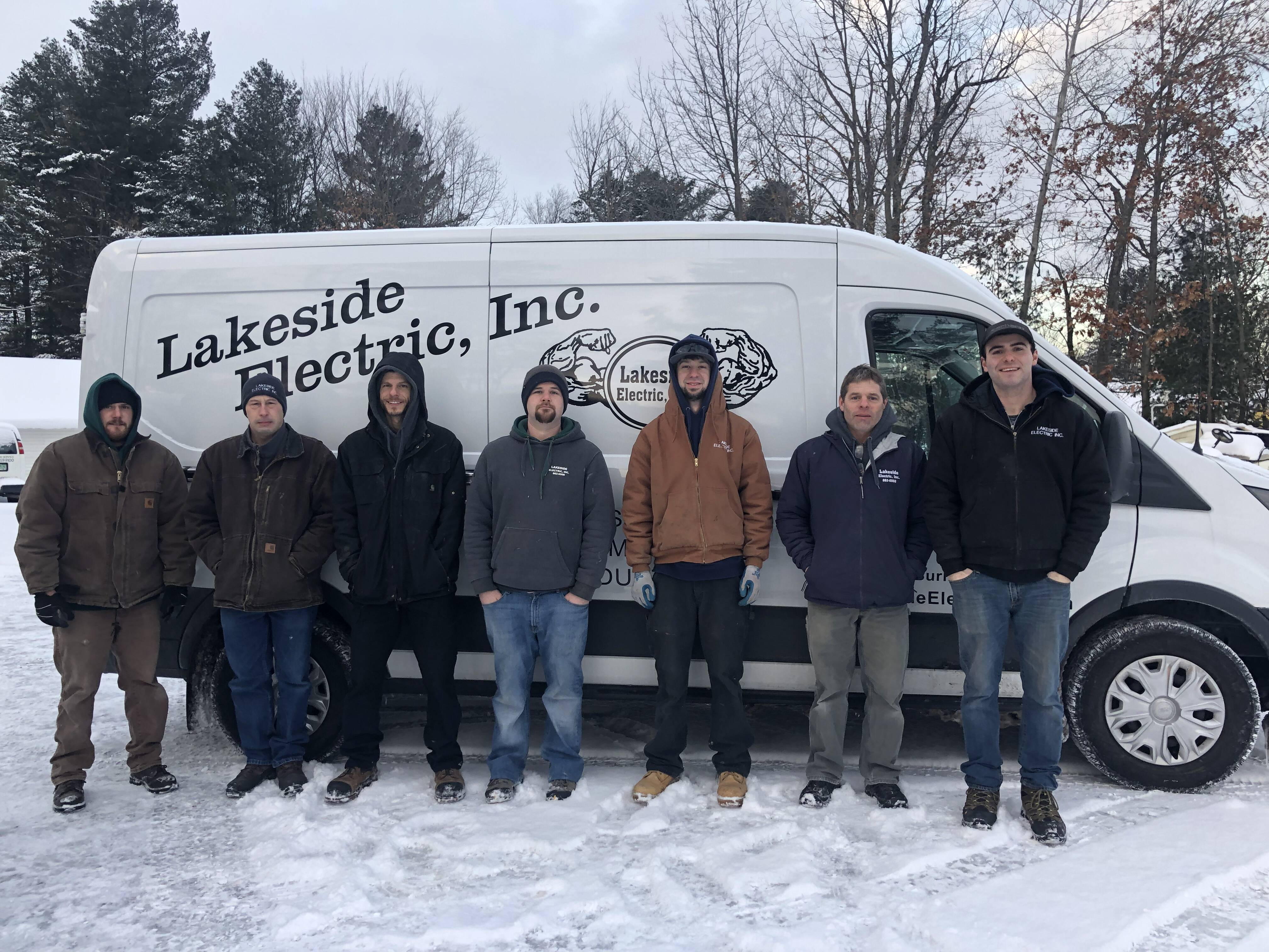 Our Team At Lakeside Electric Inc.